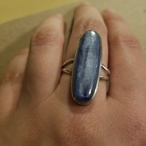 Jewelry - Statement Size 8 Baby Blue Moonstone ring